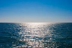 Ainda superfície da água de mar Imagens de Stock
