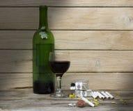 Ainda uvas para vinho da vida Imagens de Stock