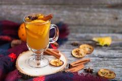 Ainda vida, alimento e conceito da bebida, o sazonal e dos feriados chris Fotos de Stock