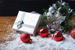 Ainda vida com acessórios do Natal Imagem de Stock