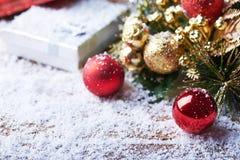 Ainda vida com acessórios do Natal Foto de Stock