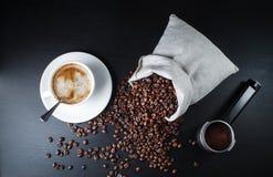 Ainda vida com café Foto de Stock Royalty Free