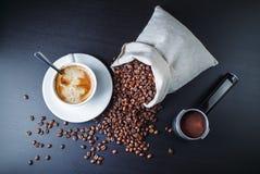 Ainda vida com café Fotografia de Stock Royalty Free