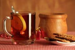 Ainda vida com chá Fotografia de Stock Royalty Free