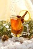Ainda vida com chá quente Fotografia de Stock Royalty Free