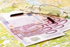 Ainda vida com dinheiro Fotografia de Stock Royalty Free