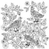 Ainda vida com flores ilustração royalty free