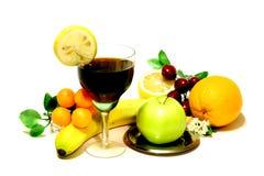 Ainda vida com fruta Fotos de Stock