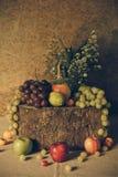 Ainda vida com frutas Foto de Stock Royalty Free