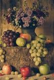 Ainda vida com frutas Fotografia de Stock