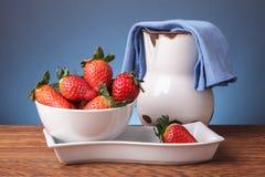 Ainda vida com frutos frescos imagens de stock royalty free