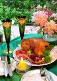 Ainda-vida com a galinha Fotografia de Stock Royalty Free