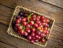 Ainda vida com grupo de uvas frescas Foto de Stock Royalty Free