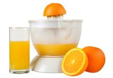 Ainda vida com laranjas e suco imagem de stock royalty free