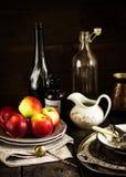 Ainda vida com maçãs Imagem de Stock Royalty Free