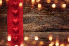 Ainda vida com o querido para o dia de Valentim Imagem de Stock Royalty Free