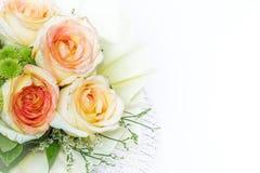 Ainda vida com o ramalhete bonito das rosas Foto de Stock Royalty Free