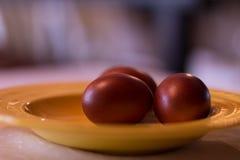 Ainda vida com ovos de Easter Copie o espaço Imagem de Stock Royalty Free
