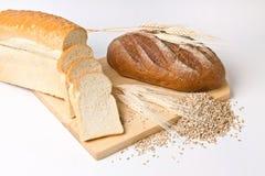 Ainda vida com pão Fotografia de Stock