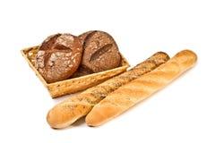 Ainda vida com pão Foto de Stock Royalty Free