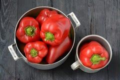 Ainda vida com pimentas Foto de Stock
