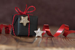 Ainda vida com presente do Natal Imagem de Stock