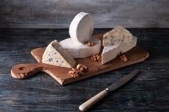 Ainda vida com queijo fotografia de stock royalty free