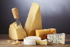 Ainda vida com queijo Fotos de Stock