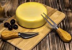 Ainda vida com queijo Imagens de Stock