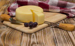 Ainda vida com queijo Imagem de Stock