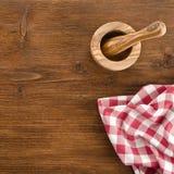 Ainda vida com toalha de mesa Imagens de Stock Royalty Free