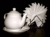 Ainda-vida com um teapot. imagens de stock royalty free