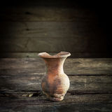 Ainda vida com um vaso, produto de cerâmica Imagem de Stock