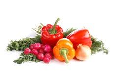 Ainda-vida com vegetais Foto de Stock