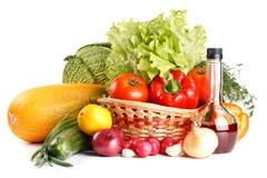 Ainda-vida com vegetais Fotografia de Stock Royalty Free