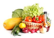Ainda-vida com vegetais Foto de Stock Royalty Free