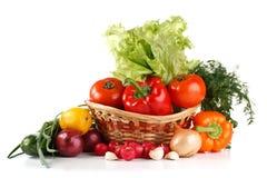 Ainda-vida com vegetais Imagem de Stock Royalty Free