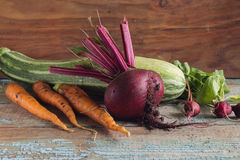 Ainda vida com vegetais Foto de Stock