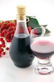 Ainda vida com vinho Fotografia de Stock