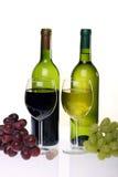 Ainda-vida com vinho Imagens de Stock Royalty Free