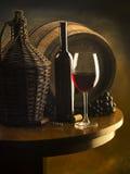 Ainda vida com vinho vermelho Foto de Stock Royalty Free