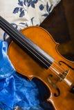 Ainda vida com violino Imagem de Stock