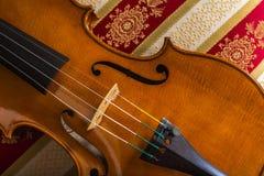 Ainda vida com violino Fotografia de Stock