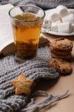 Ainda vida da bebida do inverno Imagens de Stock Royalty Free