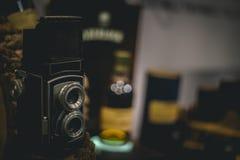 Ainda vida da câmera do vintage Fotografia de Stock Royalty Free