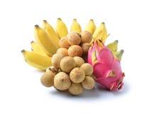 Ainda-vida da fruta fresca Imagens de Stock Royalty Free