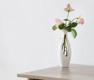 Ainda vida da rosa do rosa Imagens de Stock