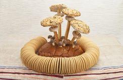 Ainda vida das pastelarias e dos bagels Imagem de Stock