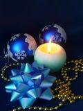 Ainda-vida de ano novo Imagens de Stock Royalty Free