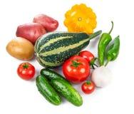 Ainda vida de comer saudável dos legumes frescos Foto de Stock Royalty Free